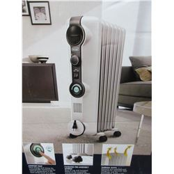 New Delonghi Full Room Radiant Heater 1500 watts oil filled / see pics for specs