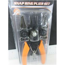 New 4 in 1 Snap Ring Pliers set