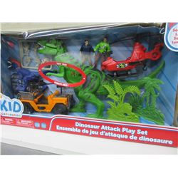 New Kid Connection Dinosaur Attack Play Set with Sound & Light 22 piece