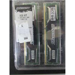 Ballistix Sport 8gb  DDR3 1600 UDIMM