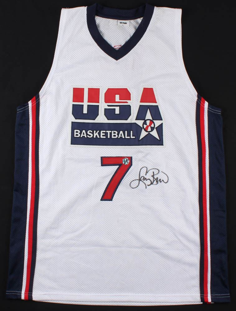 size 40 961d7 0f6aa Larry Bird Signed Team USA