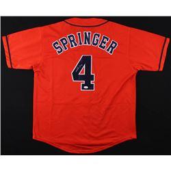 info for 797a6 5b36e George Springer Signed Astros Jersey (JSA COA Springer ...