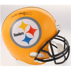 ec83c88f9 Antonio Brown Signed Steelers Full-Size Helmet (JSA COA)