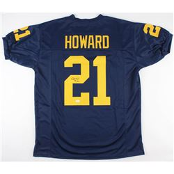 774f5ae10 Desmond Howard Signed Michigan Wolverines Jersey Inscribed