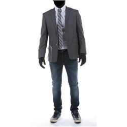 """Sam Witwicky"" blazer and jeans ensemble from Transformers: Dark of the Moon."