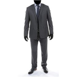 """Sam Witwicky"" gray suit ensemble from Transformers: Dark of the Moon."