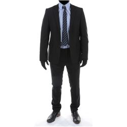"""Sam Witwicky"" charcoal suit ensemble from Transformers: Dark of the Moon."