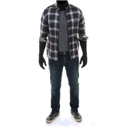 """Sam Witwicky"" plaid shirt ensemble from Transformers: Dark of the Moon."