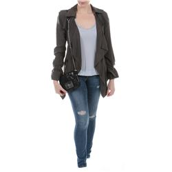 """Carly"" olive green jacket and jeans ensemble from Transformers: Dark of the Moon."