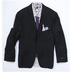 """Simmons"" black suit and floral accessories ensemble from Transformers: Dark of the Moon."
