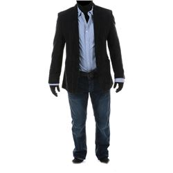 """Dylan"" black blazer ensemble from Transformers: Dark of the Moon."