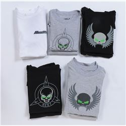 """NEST"" t-shirts (9) from Transformers: Dark of the Moon."