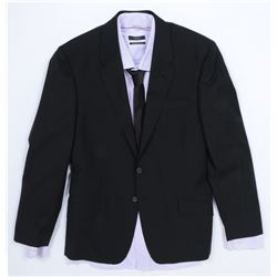 """Simmons"" black suit ensemble from Transformers: Dark of the Moon."