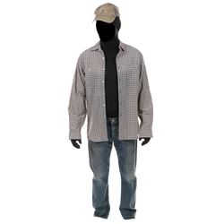 """""""Cade Yeager"""" plaid shirt and jeans ensemble from Transformers: Age of Extinction."""