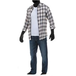 """""""Cade Yeager"""" check plaid shirt and jeans ensemble from Transformers: Age of Extinction."""