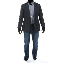 """Cade Yeager"" navy blue blazer ensemble from Transformers: Age of Extinction."