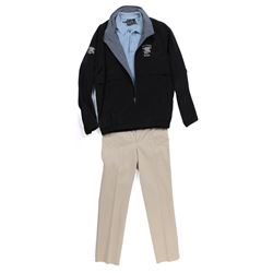 """""""Harold Attinger"""" jacket and khakis ensemble from Transformers: Age of Extinction."""