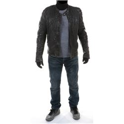 """""""Shane Dyson"""" leather jacket ensemble from Transformers: Age of Extinction."""