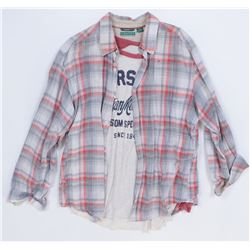 """""""Lucas Flannery"""" plaid shirt and jeans from Transformers: Age of Extinction."""
