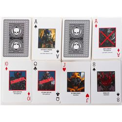 """Cemetery Wind"" (6) decks of black-backed death cards from Transformers: Age of Extinction."