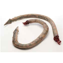 Alien creature severed tongue props (2) from Transformers: Age of Extinction.
