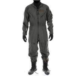 """""""Cade Yeager"""" distressed combat flight suit ensemble from Transformers: The Last Knight."""