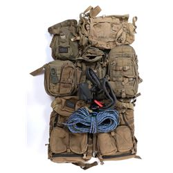 """""""Cade Yeager"""" (9) canvas backpacks from Transformers: The Last Knight."""