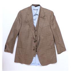 """Sir Edmund Burton"" plaid blazer and vest ensemble from Transformers: The Last Knight."