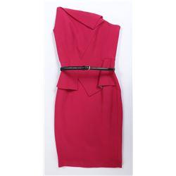 """High Society Lady #1"" raspberry dress designer fashion ensemble from Transformers: The Last Knight."