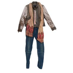 """Izabella 'Izzy'"" jacket and scarf ensemble from Transformers: The Last Knight."