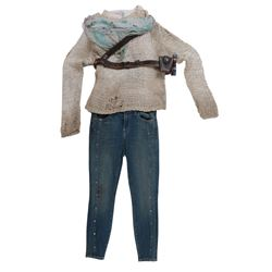 """Izabella 'Izzy'"" distressed ensemble from Transformers: The Last Knight."