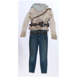 """Izabella 'Izzy'"" stunt distressed ensemble from Transformers: The Last Knight."
