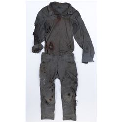 """Santos"" distressed Transformers Reaction Force uniform from Transformers: The Last Knight."