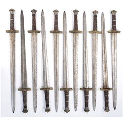 Briton gold pommel swords (11) from Transformers: the Last Knight.