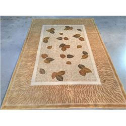 6'X9' Silk and Wool Tibetian Rug