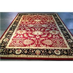 7.10X10.10 Red Area Rug