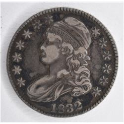 1832 BUST HALF DOLLAR, VF+
