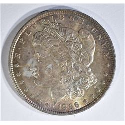 1896 MORGAN DOLLAR  GEM
