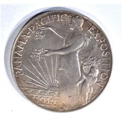 1915-S PAN-PAC COMMEM HALF DOLLAR