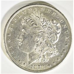 1878-S MORGAN DOLLAR CH BU FLASHY