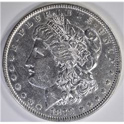 1879 MORGAN DOLLAR, AU/BU