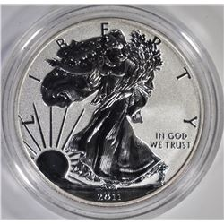 2011 REVERSE PROOF AMERICAN SILVER EAGLE IN ORIG C