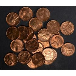 25-1946-S BU LINCOLN CENTS