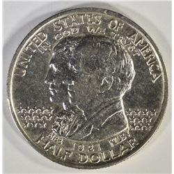 1921 ALABAMA COMMEM HALF DOLLAR, CH BU a few marks