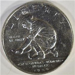 1925-S CALIFORNIA COMMEM HALF DOLLAR, CH BU