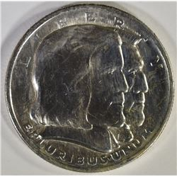 1936 LONG ISLAND COMMEM HALF DOLLAR, GEM BU