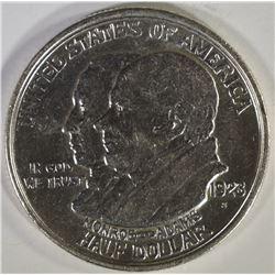 1923 MONROE COMMEM HALF DOLLAR, AU/BU