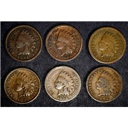 INDIAN HEAD CENT LOT: