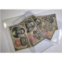 FRACTIONAL CURRENCY LOT: