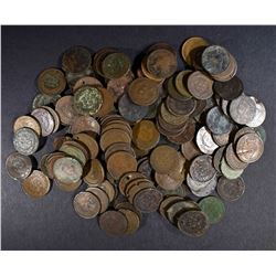 165-LOW GRADE/DAMAGED INDIAN CENTS:
